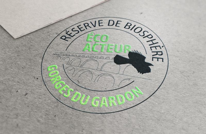 Logotype éco-acteurs Gardon